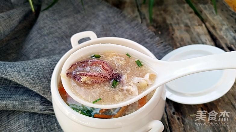 八带酸辣汤成品图