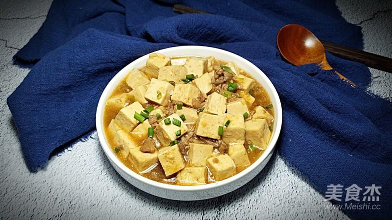 红烧豆腐成品图