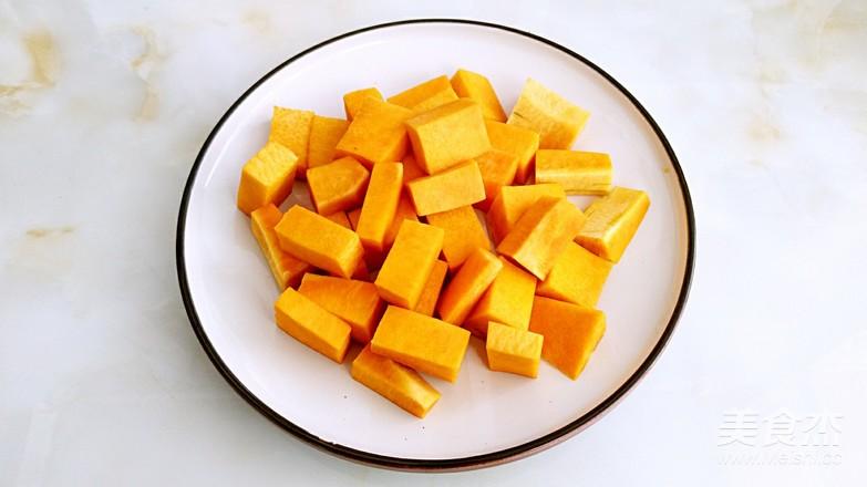 双米南瓜粥的简单做法