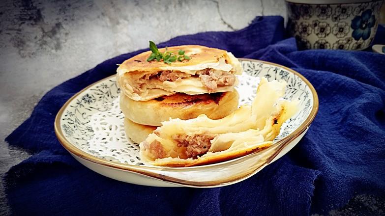宫廷牛肉酥饼成品图