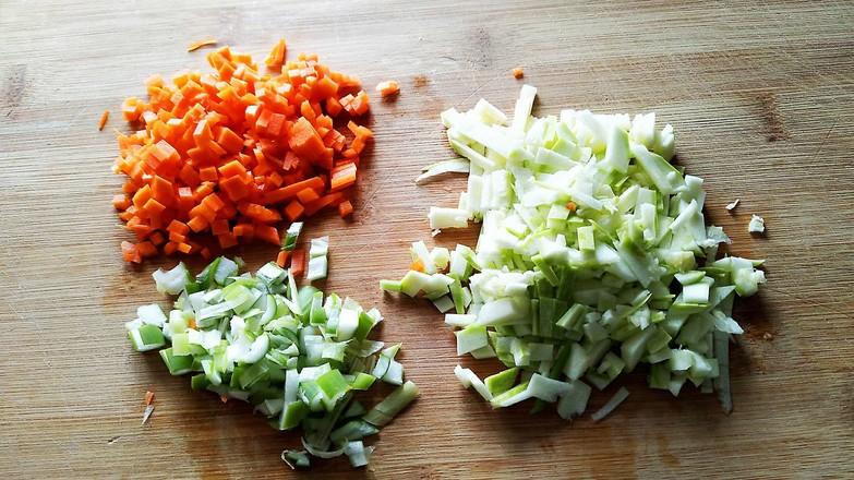 燕麦蔬菜饼的做法图解