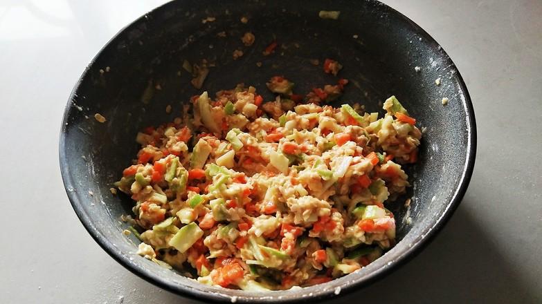 燕麦蔬菜饼的简单做法