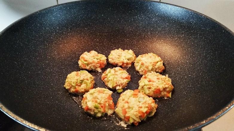 燕麦蔬菜饼怎么做