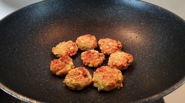 燕麦蔬菜饼怎么煮