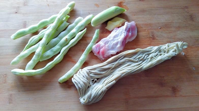 芸豆焖面的做法大全