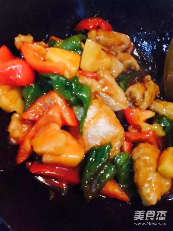 菠萝古老肉的简单做法