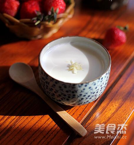 广东姜撞奶成品图