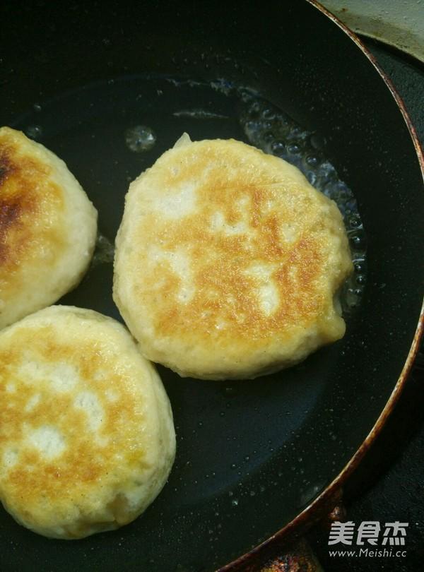 东北三鲜肉饼的制作