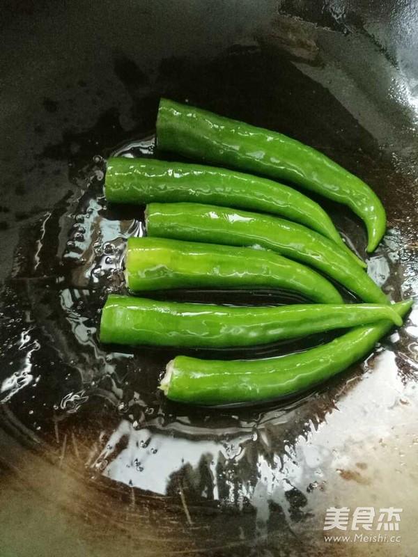 虎皮尖椒酿肉怎么吃
