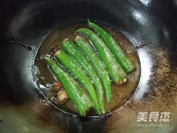 虎皮尖椒酿肉怎么做