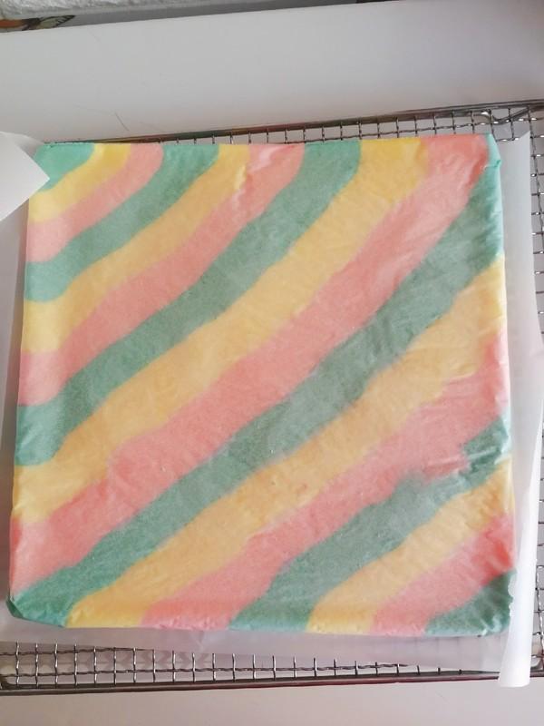 彩虹蛋糕卷怎么煮