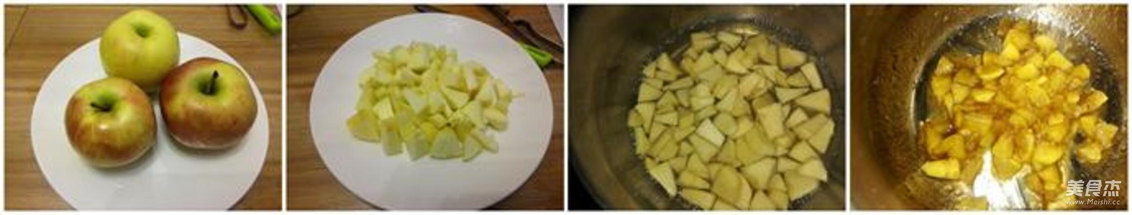 苹果派的步骤