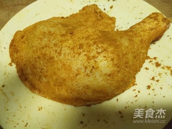 盐焗鸡腿(面包机版)的家常做法