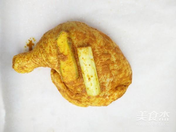 盐焗鸡腿(面包机版)的简单做法
