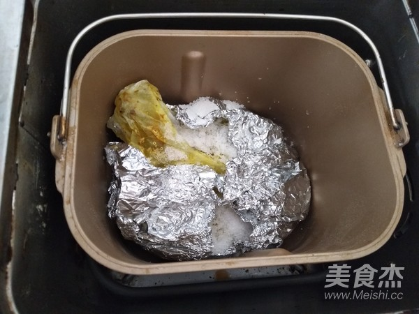 盐焗鸡腿(面包机版)怎样做