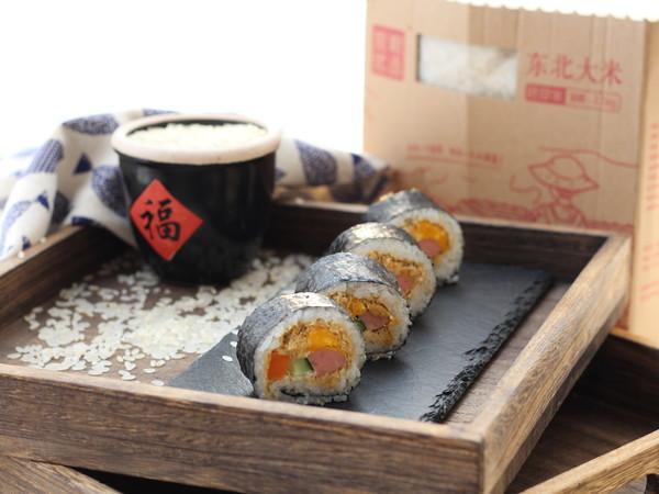 简单快手家常寿司的做法成品图