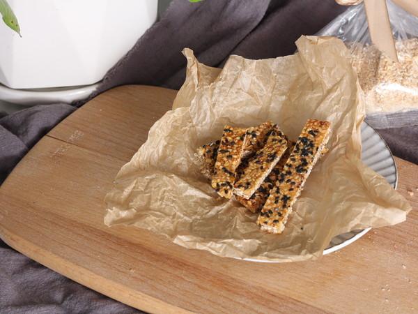 减脂燕麦饼干成品图