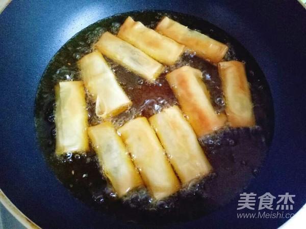 炸春卷怎么煮