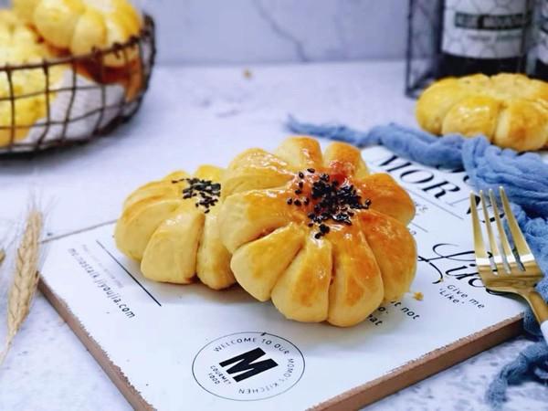 太阳花椰蓉面包的制作大全