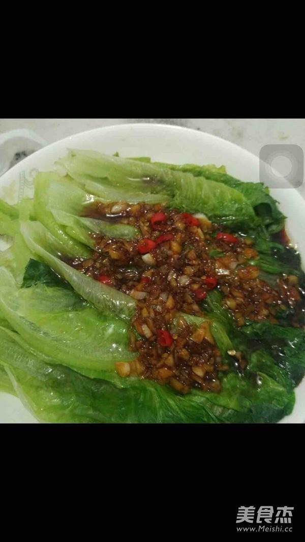 蚝油蒜蓉生菜的简单做法