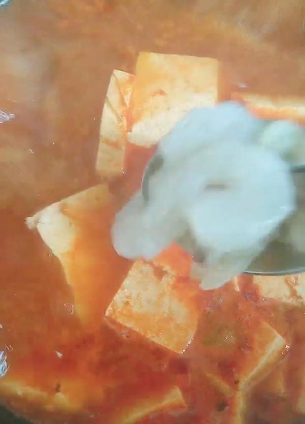 《海鲜豆腐汤》怎样煸