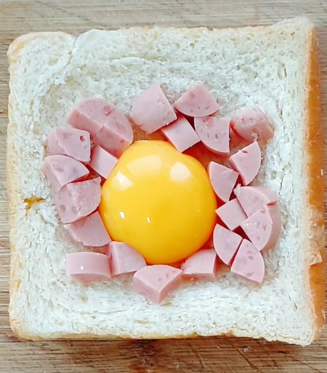鸡蛋烤土司怎么煮