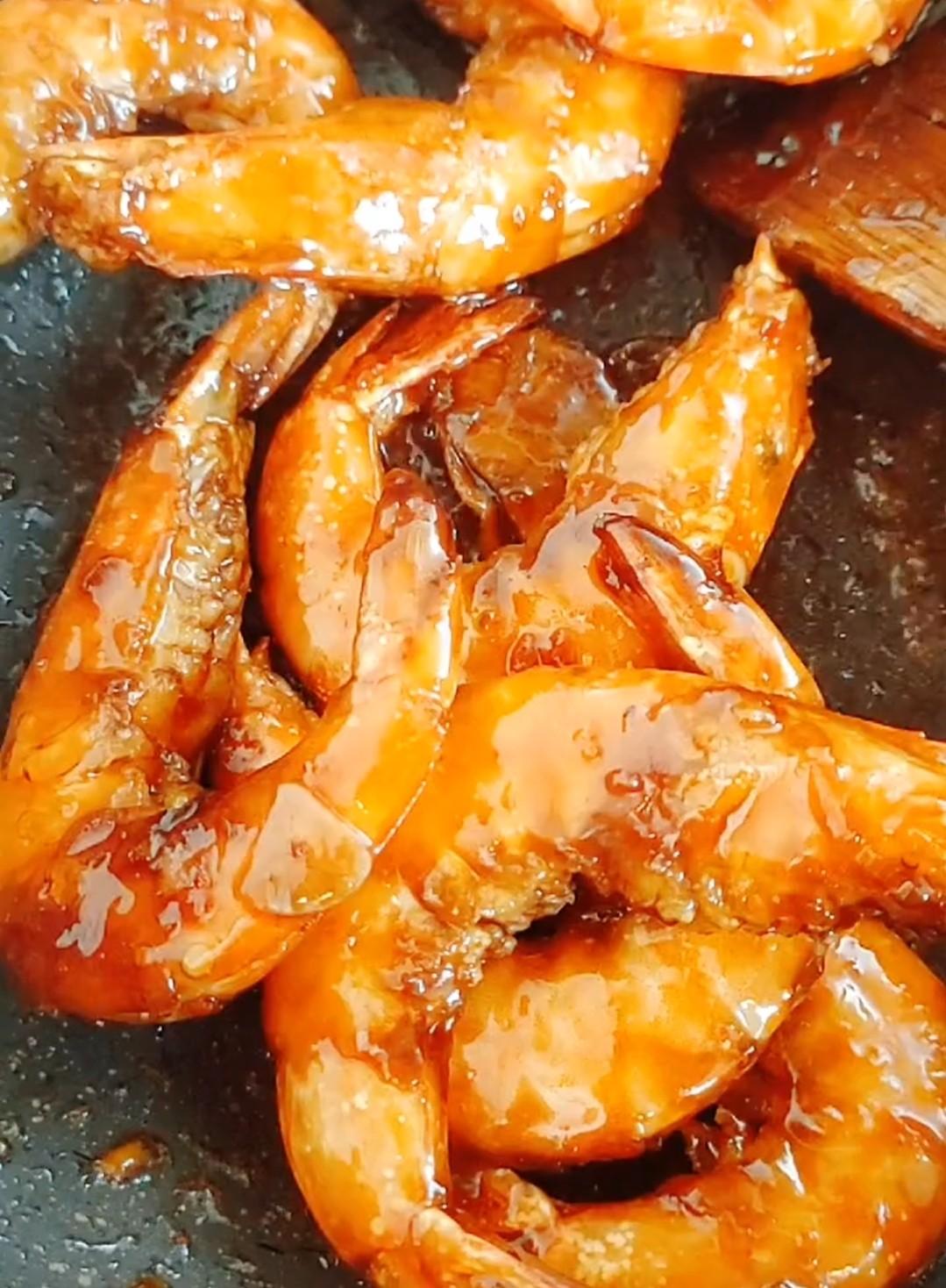 干炒大虾怎样做