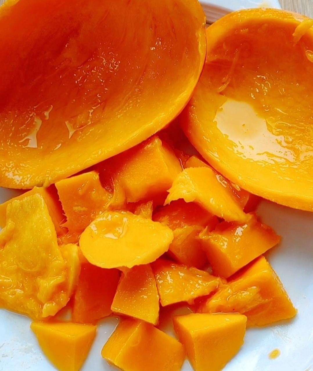 芒果牛肉粒的家常做法