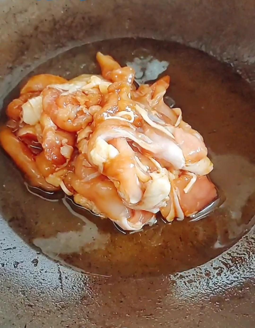 青椒鸡腿肉的家常做法