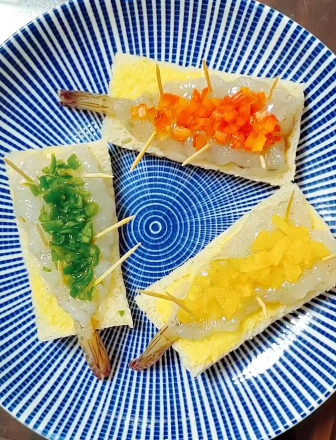 三彩大虾怎样做