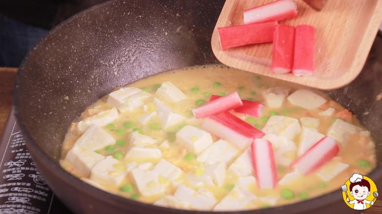 蟹黄豆腐怎样做