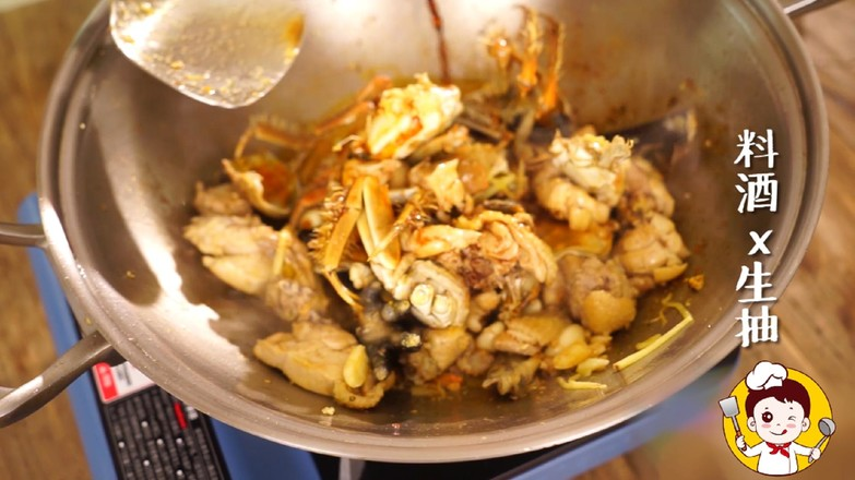 海鲜鸡煲蟹怎么炒