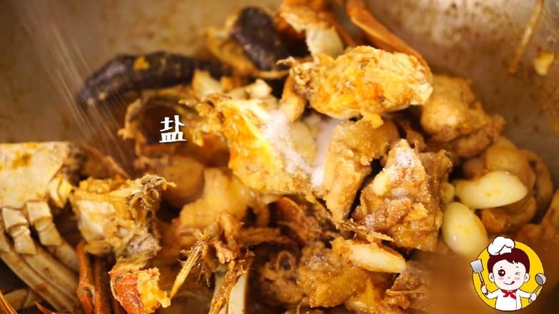 海鲜鸡煲蟹怎么煮