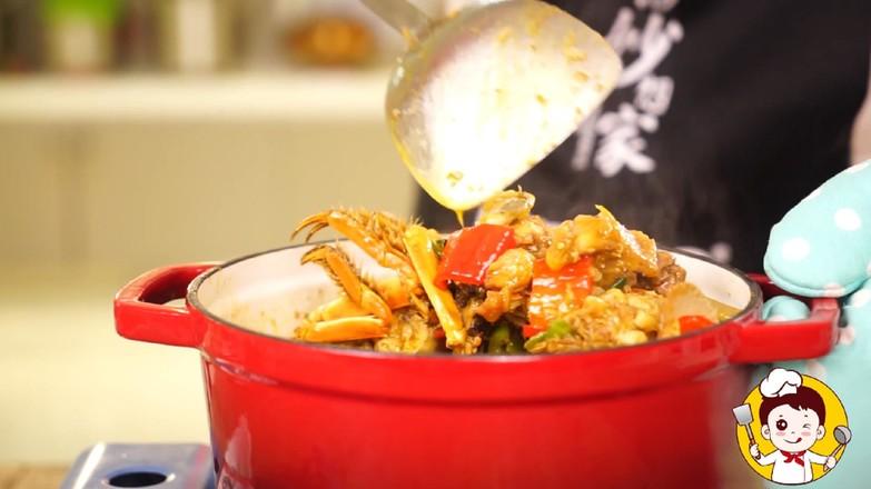 海鲜鸡煲蟹怎样炖