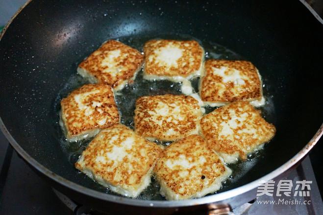 香煎嫩豆腐的做法图解