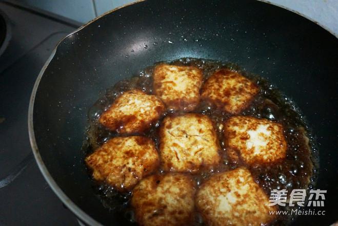 香煎嫩豆腐的简单做法