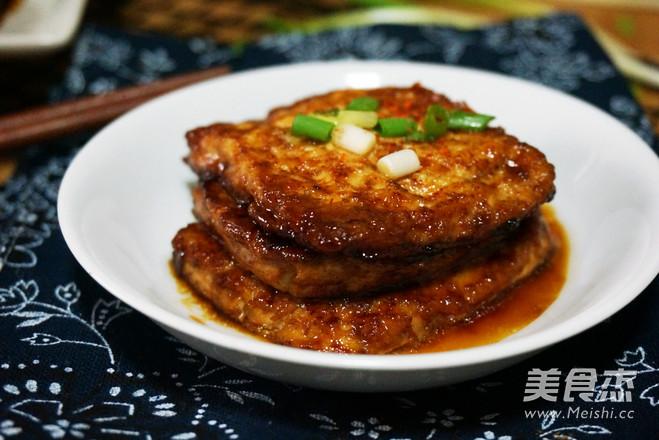 香煎嫩豆腐怎么吃