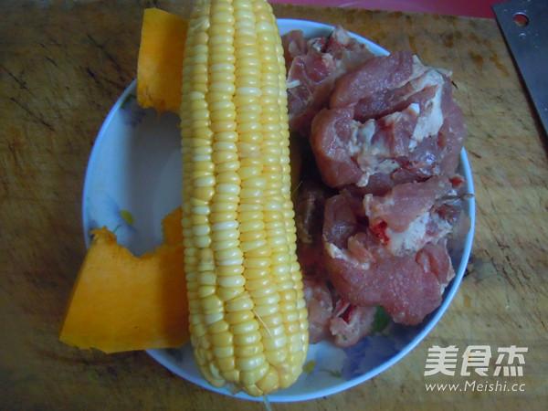 玉米南瓜排骨汤的做法大全