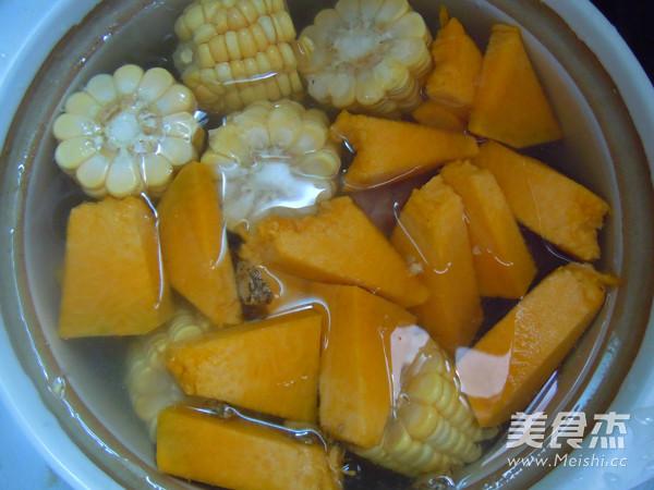 玉米南瓜排骨汤怎么做