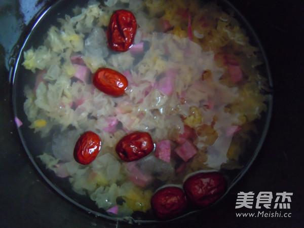 紫薯银耳汤怎么吃
