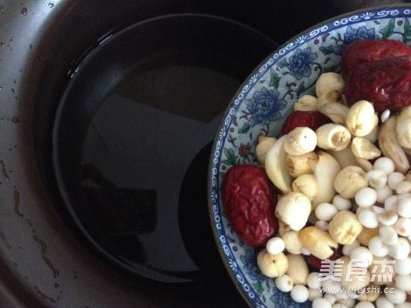 苏泊尔·莲子百合甜汤的简单做法
