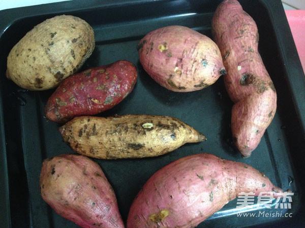 烤红薯的做法图解