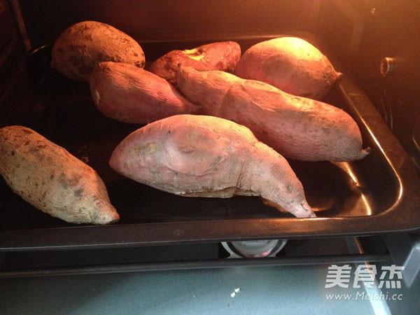 烤红薯的步骤