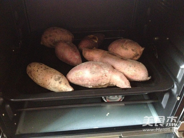烤红薯怎么做