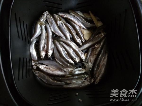 无油版香炸小鱼的步骤
