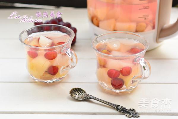养生壶-水果茶成品图