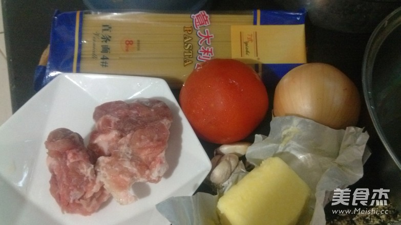 意式茄汁肉酱面的做法大全