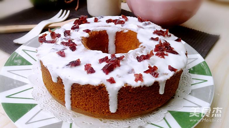 蔓越莓戚风蛋糕怎么炖