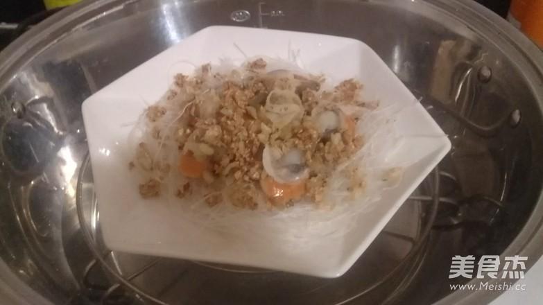 黄金蒜海鲜蒸粉丝怎么煮