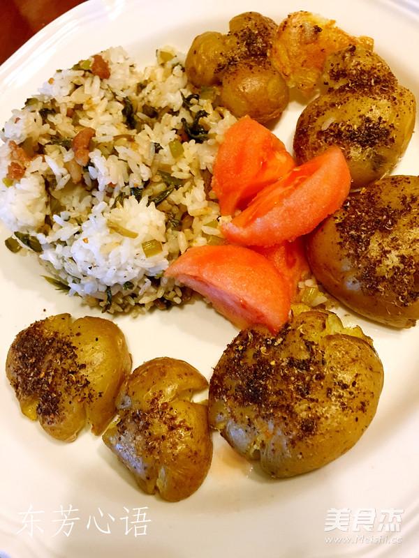 烤小土豆怎么炒